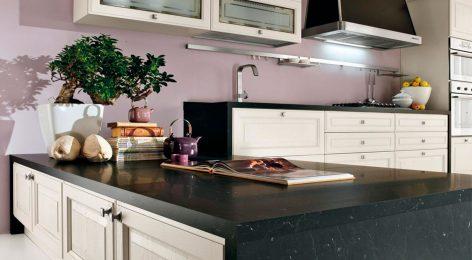 Кухнонные шкафчики с подсветкой