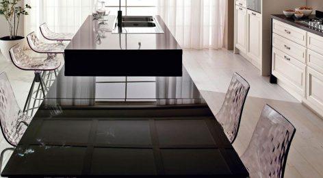 Современное решение кухонного стола