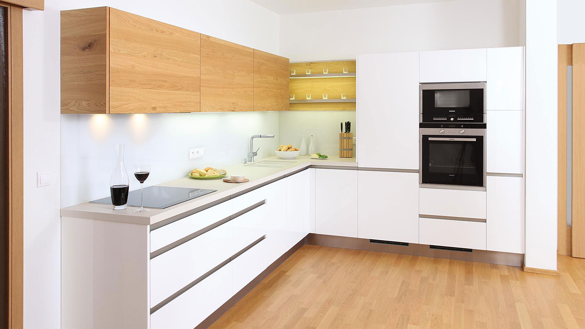 Фотогалерея г образной кухни