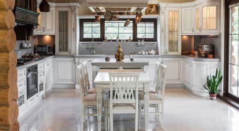 Белая классическая кухня Патрисия на заказ