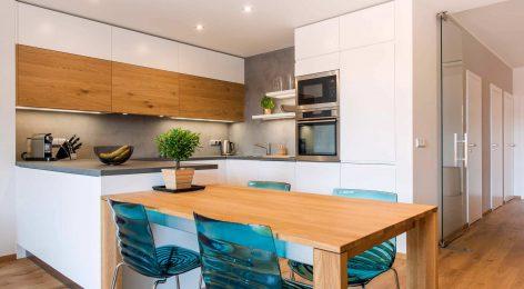 купить кухонный гарнитур по индивидуальным размерам