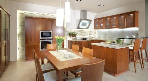 Большая кухня на заказ по проекту