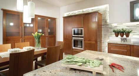 Кухня на заказ в большую квартиру