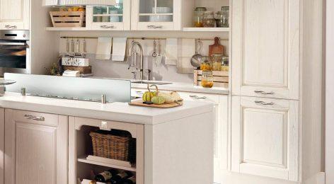 Встроенный холодильник тренд в дизайне кухни
