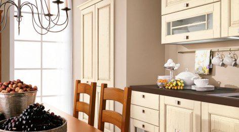 Кухня в стиле прованс по размерам