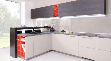 Кухня Шарлиз с ультрамодным дизайном