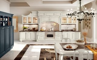 белая кухня массив купить