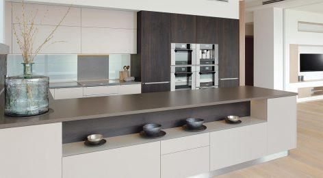 Строгая кухня в современном стиле Линда