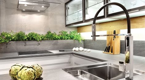 Модная кухня в современном стиле от производителя