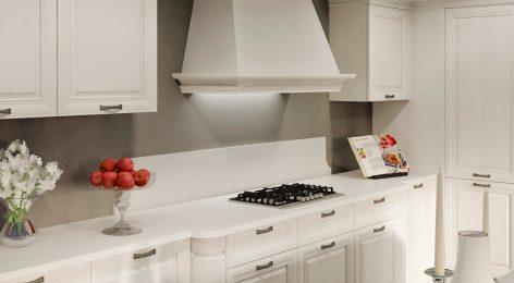 Белая кухня Жаклин — совершенство на заказ