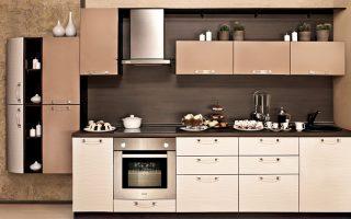 Стильная кухня нежность фото