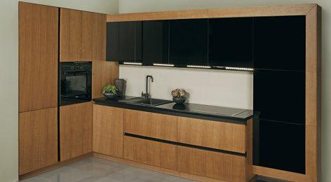 стильная кухня в лофт дизайн