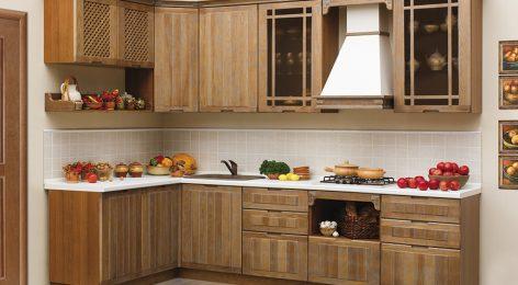 Кухня Осень по индивидуальному проекту