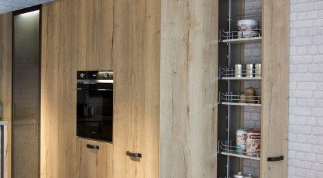 Кухня в стиле лофт 13