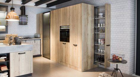 Кухня в стиле лофт 14
