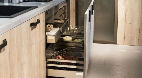 Кухня в стиле лофт 15