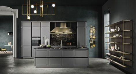 кухня в стиле лофт 1