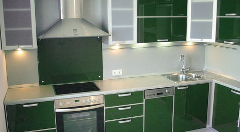 зелёная кухня грин