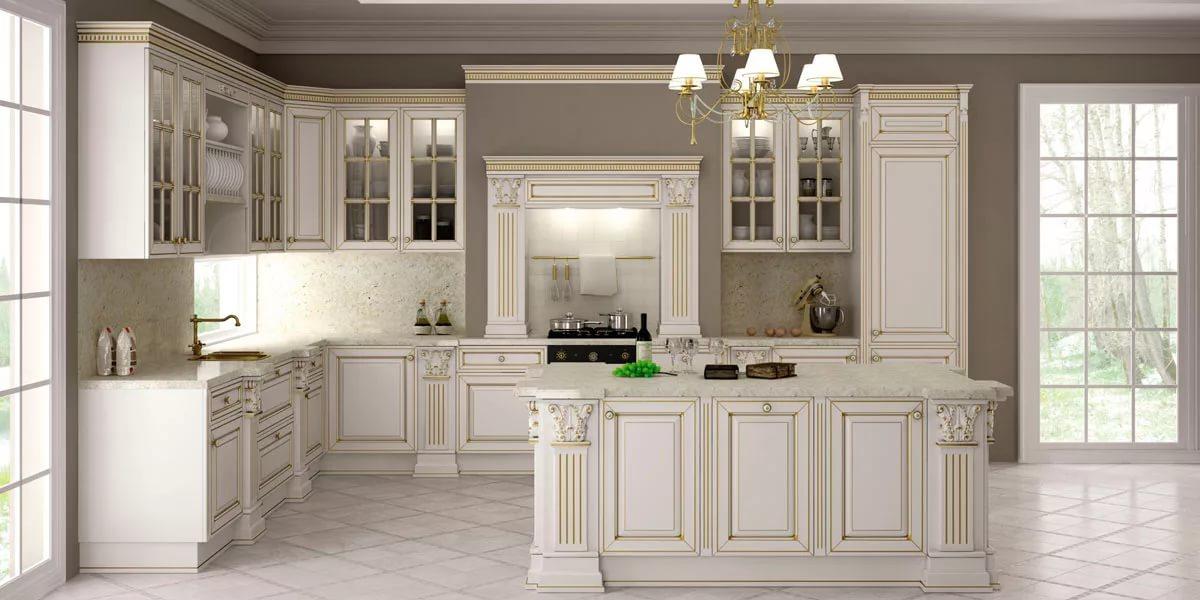 кухня классика готсиная